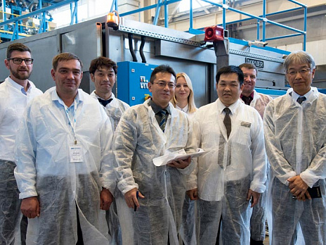 The representatives of Futamura company visited the plant Waterfall