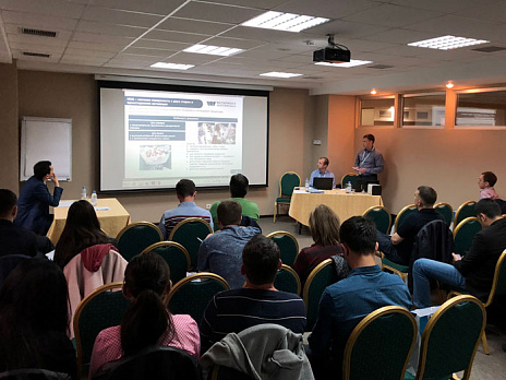 The seminar of the Waterfall company was held in Kazakhstan